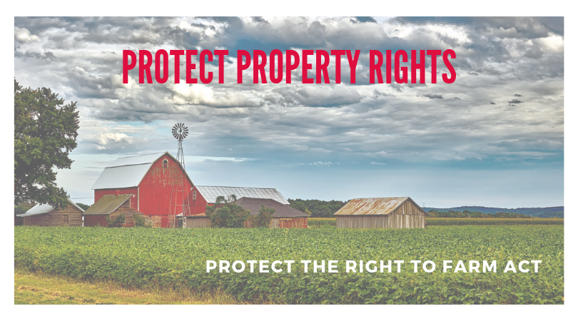 Oppose HB 545 to protect the Right to Farm Act